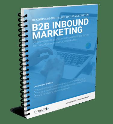 e-Book B2B Inbound Marketing cover 3d